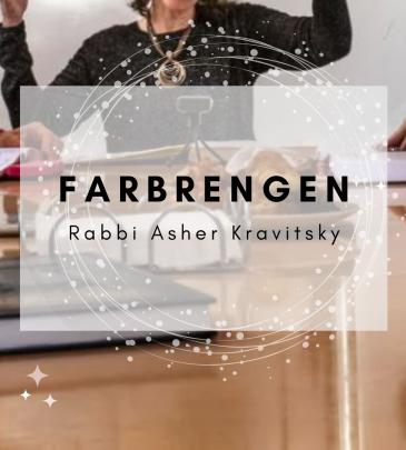 Farbrengen Rabbi Kravitsky