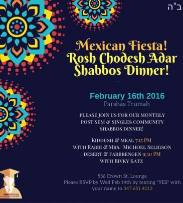 Mexican Shabbos