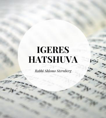 Igeres Hatshuva