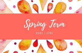 Spring Term 2021