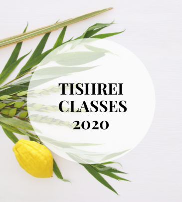 Tishrei Classes 2020