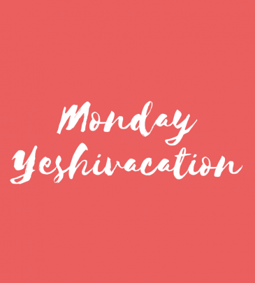 Spend Monday at Yeshivacation
