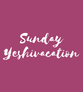 Spend Sunday at Yeshivacation.