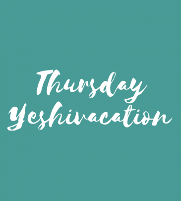 Spend Thursday at Yeshivacation