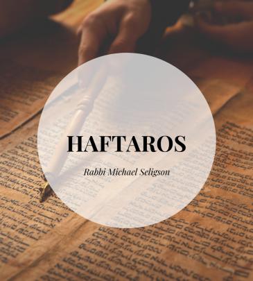 Rabbi Seligson- Haftaros