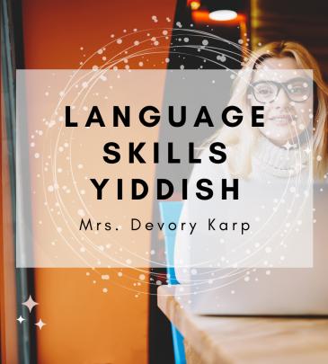 Language Skills Yiddish