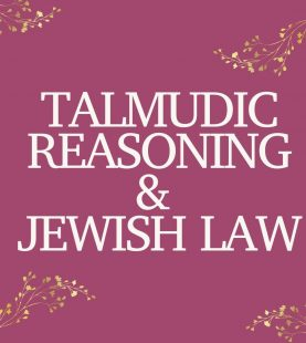 Talmudic reasoning & Jewish Law