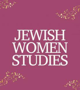 Jewish Women Studies