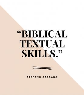 Biblical textual skills