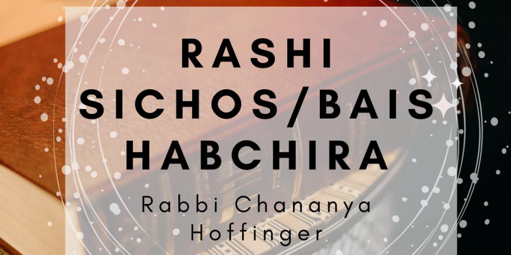 RASHI SICHOS