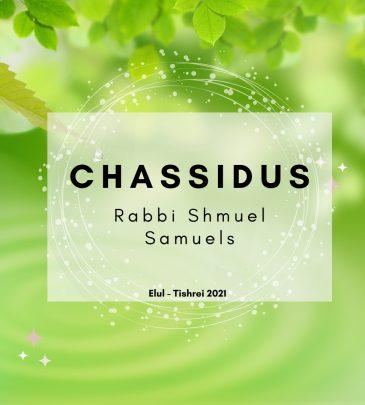 Chassidus on Elul-Tishrei
