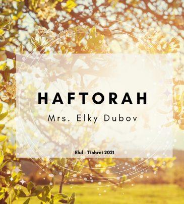 Haftorah Elul-Tishrei