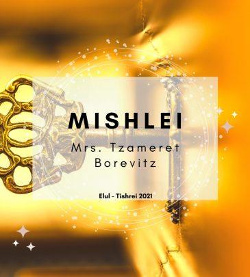 Mishlei Elul-Tishrei