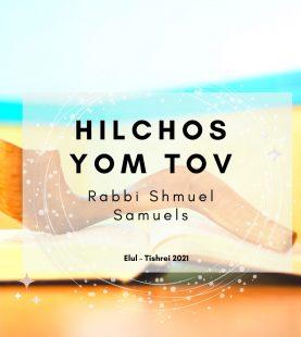 Hilchos Elul-Tishrei 1