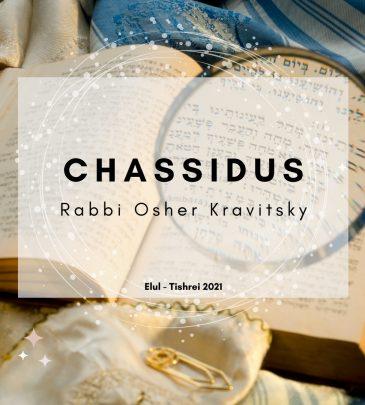 Chassidus 1 Elul Tishrei