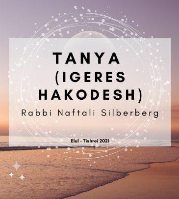 Tanya (Igeres Hakodesh) Elul-Tishrei