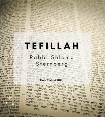 Tefillah Elul Tishrei