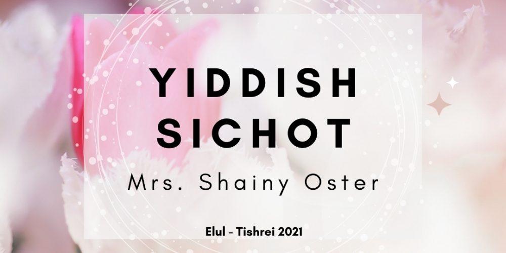 yiddish sichot2